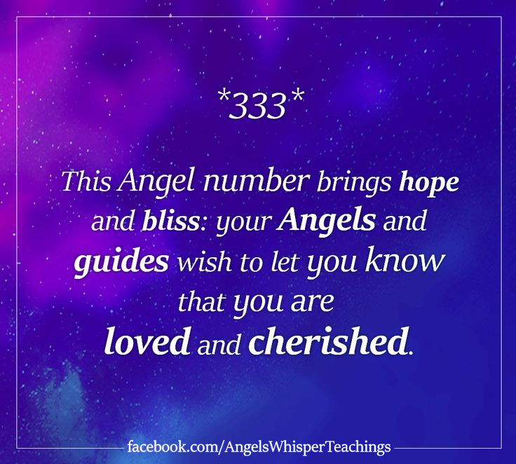 Angel Numbers