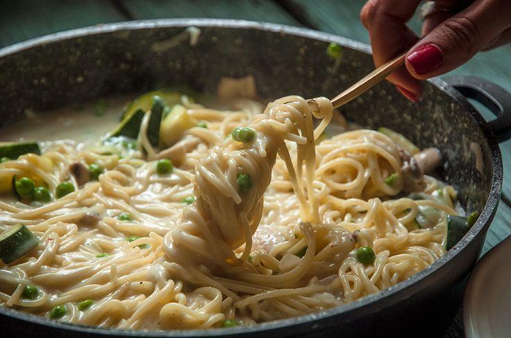 Zöldséges tészta 20 perc alatt!   NOSALTY – receptek képekkel