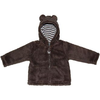 Carters ( Carter's) men and women unisex Brown モコモコフ lease ears Hooded Zip up jacket, cold weather, warm ボアパーカー, birth celebration, gift giv...