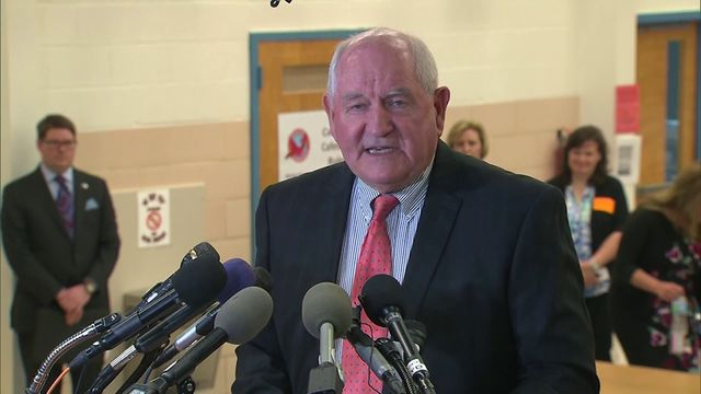 Changes to school lunches are coming courtesy of Secretary of Agriculture Sonny Perdue. Perdue scaling back some the changes made under former -