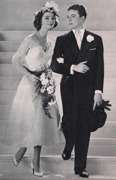 Vintage Wedding ♥ 1957