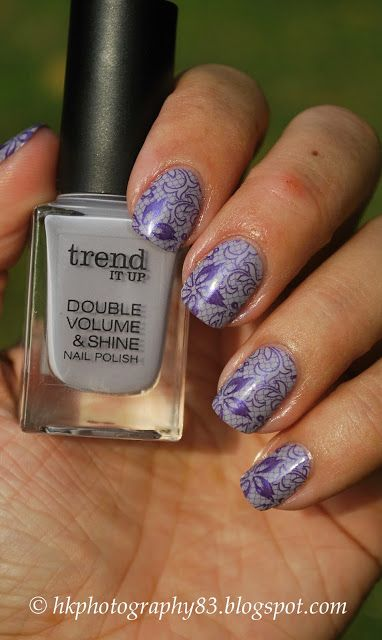 Stamping nailart with Trend It Up Polishes #stamping #trenditup