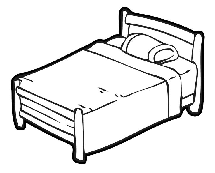 bedroom furniture clipart. bedroom furniture clipart black and white