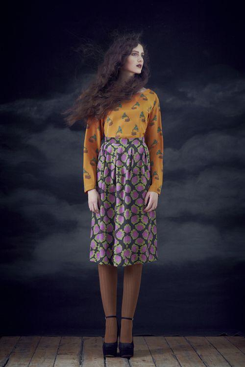 gramophone shirt! by Charlotte Taylor Fall 2012