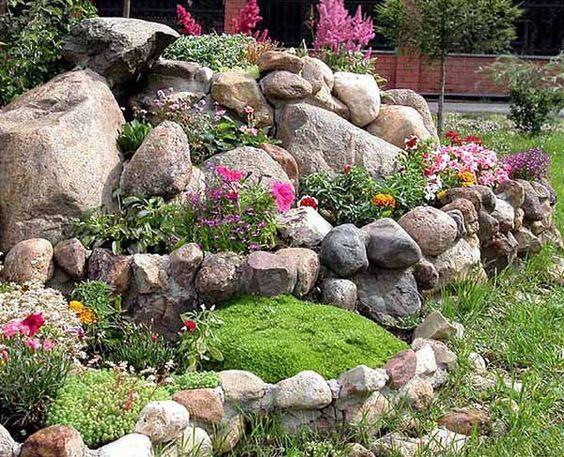 Felsen für den Garten – Kerstin van Stegen