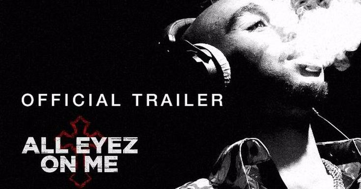 Check out the inspiring first trailer for Tupac biopic 'All Eyez on Me'