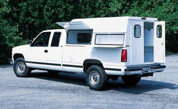 truck topper / bed size? - M715 Zone