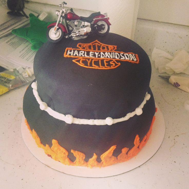 79 Best Images About Harley Davidson Cakes On Pinterest