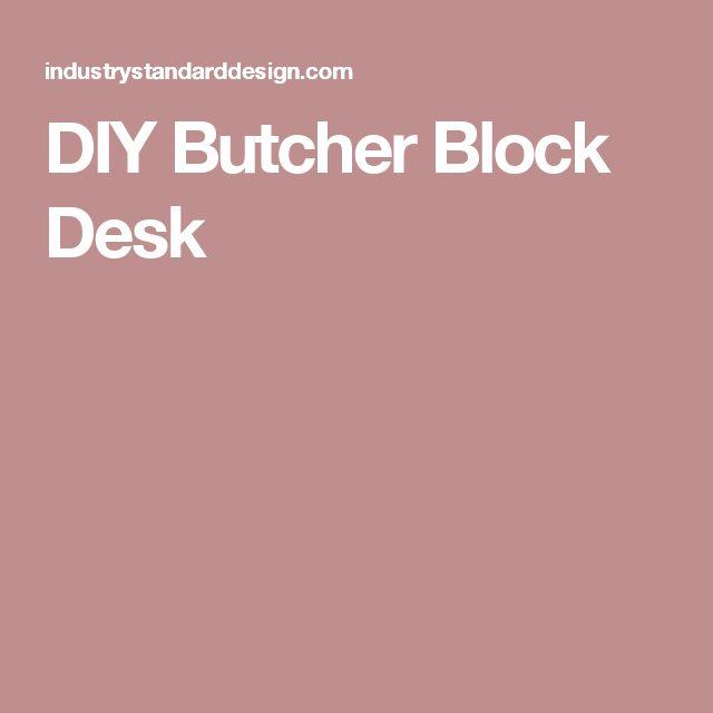 47 Best Tucked Under Stairs Eaves Images On Pinterest: Best 25+ Butcher Block Desk Ideas On Pinterest