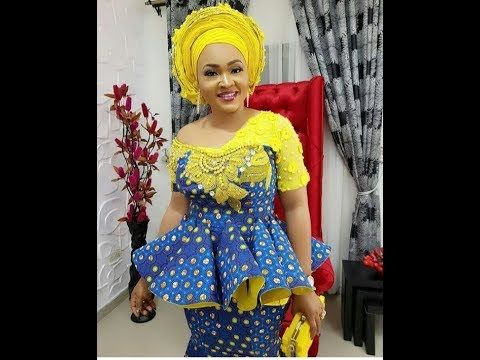 Creative Cord Lace Asoebi Styles And Unique Ankara Styles For Ladies