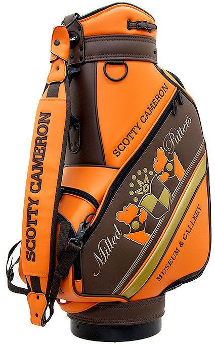 USED Scotty Cameron M&G 2007 Staff Bag Orange from Japan #ScottyCameron