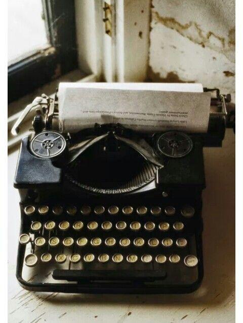 Type writer...I want one so bad