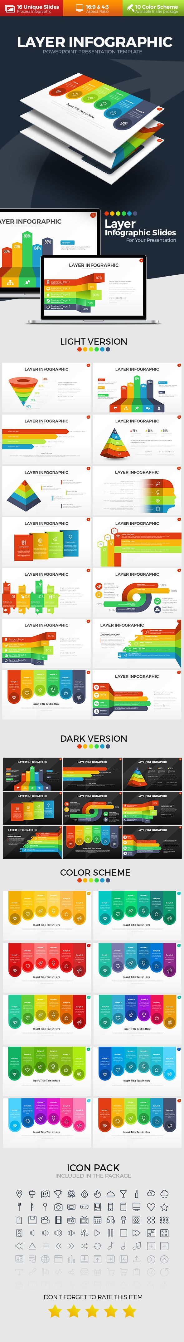 Layer Infographic PowerPoint Template. Download here: https://graphicriver.net/item/layer-infographic-powerpoint-template/17535151?ref=ksioks