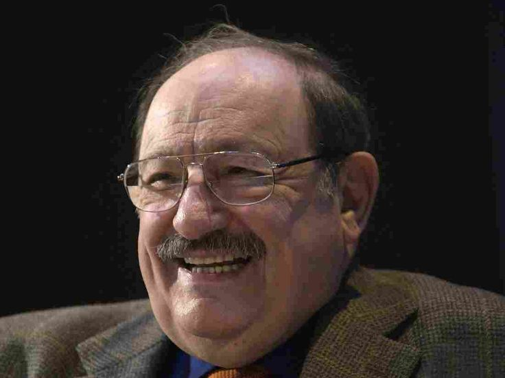 Italian writer Umberto Eco attends an event at the Paris Book Fair on March 30, 2010.