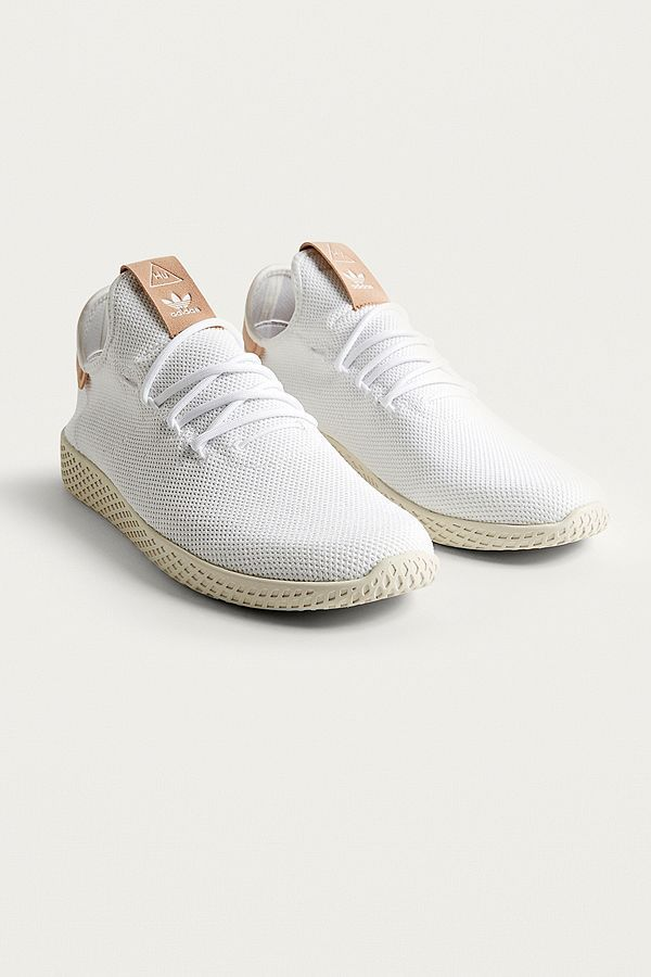 Pharrell williams hu blanches adidas tennis hype pinterest