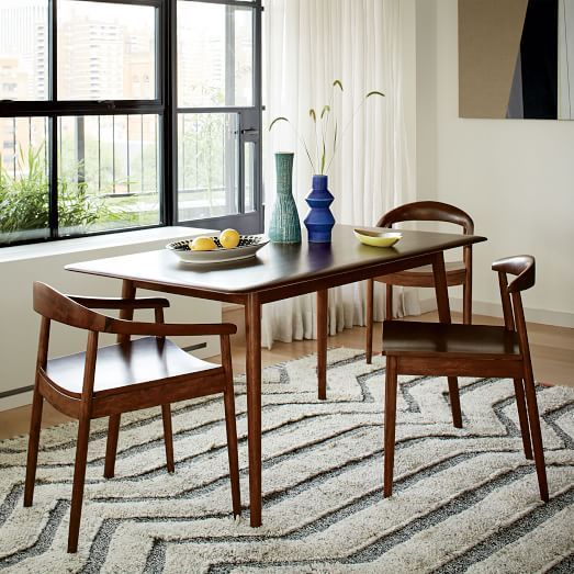 lena midcentury dining table