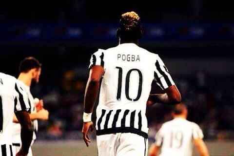 The new number 10 for Juventus Paul Pogba