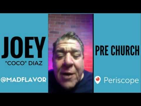 The Church Of What's Happening Now Pre Show: #415 - Joey Diaz and Lee Syatt
