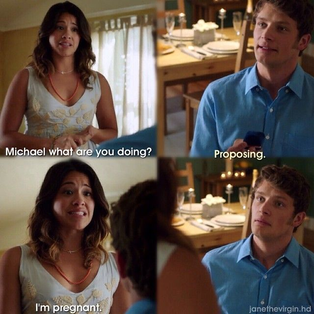 "#JaneTheVirgin 1x01 ""Chapter One"" - Jane and Michael"