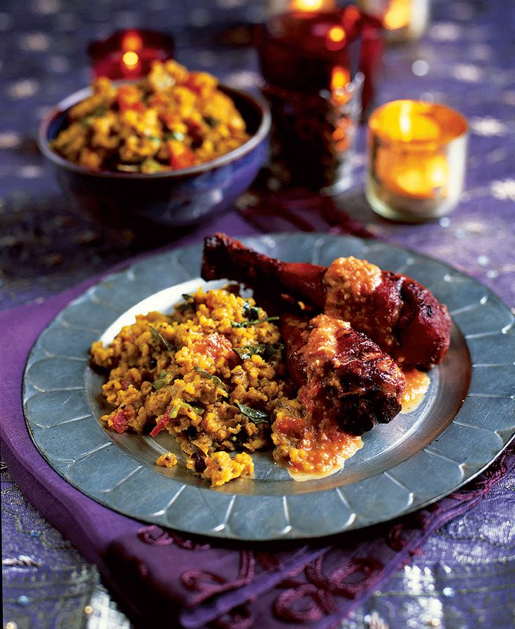 This recipe for Murgh tikka makhani, or Indian spiced chicken, has a lovely depth of flavour.