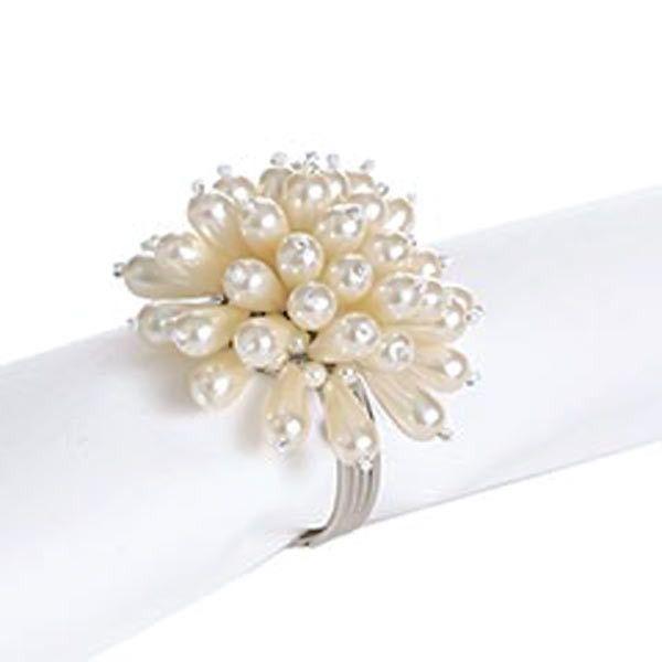 Pearl Flower Set of 6