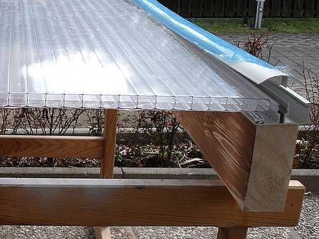Build your own terrace roof Step by step in 2020 Patio