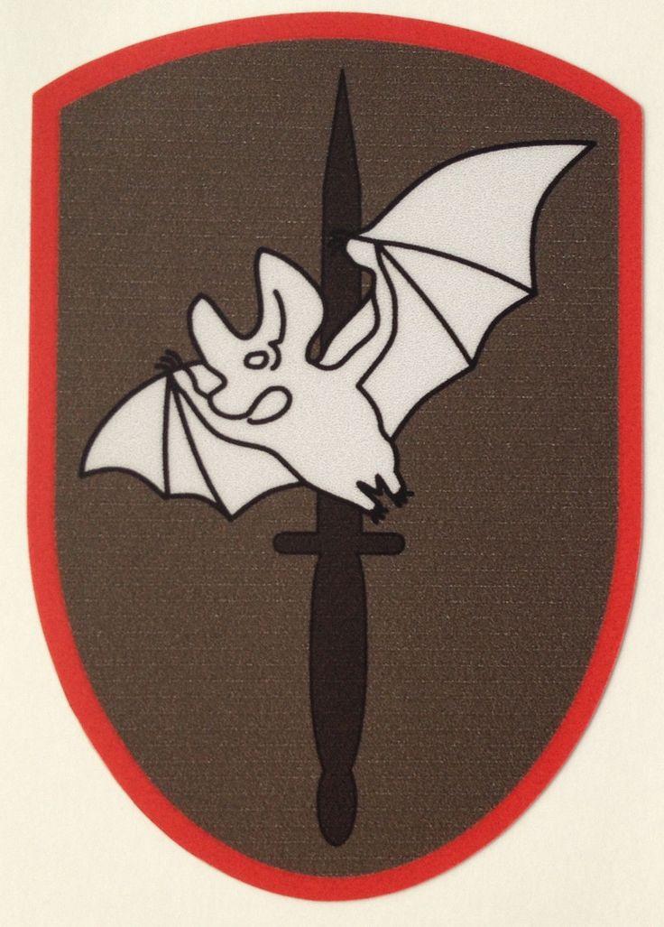 Aufkleber Sticker Kommando Spezial Kräfte (KSK) 2. Kommando Bundeswehr Verbands.