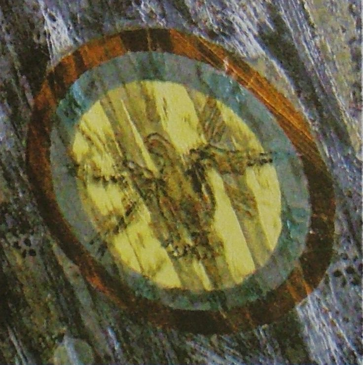 Details of painting in the Sanctuary ceiling vault