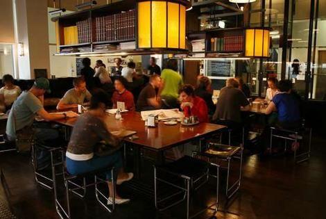 Eat and drink in Melbourne:  Journal Cafe  253 Flinders Lane  Melbourne VIC 3000