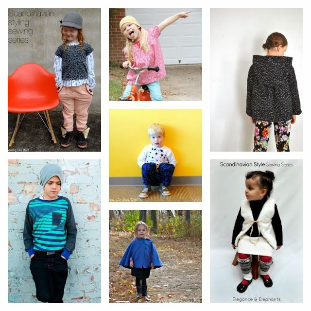 Boy, Oh Boy, Oh Boy!: Scandinavian Style Sewing Series Wrap-up