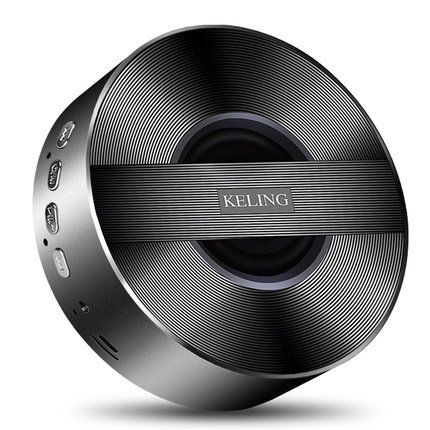 Ke Ling A5 Ultra Portable Wireless Bluetooth Speaker, CSR 4.0 (Black,Gold,Sliver,Rose Gold). ENHANCED AUDIO: A CSR 4.0 Bluetooth chipset, 3W rate power and enhanced bass resonator offer class-leading performance for crystal clear and incredible sound quality. COMPACT AND PORTABLE: Small size with carrying pouch. Anti-skid mat on bottom of the speaker to add stability; Multi-hole silicone protective layer to avoid slipping and spread the sound barrier-free;. WIRELESS FREEDOM: Built-in mic...