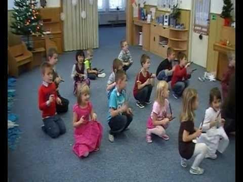 Vánoční besídka ve školce na Větrné u krtečků 12 12 2012 - YouTube