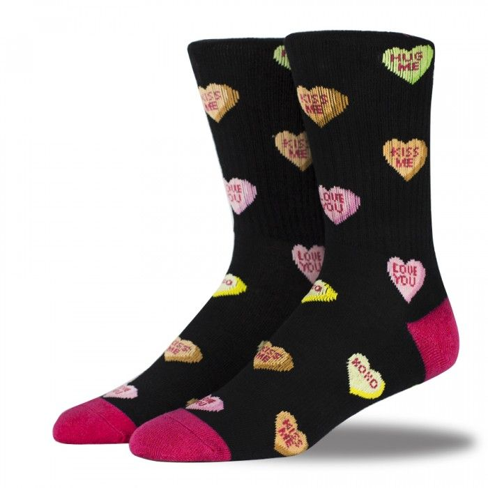 Arthur George by Robert Kardashian Hearts & Love Notes Socks