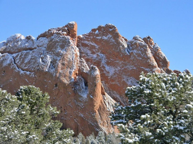 Kissing Camels in Garden of the Gods Park in Colorado Springs