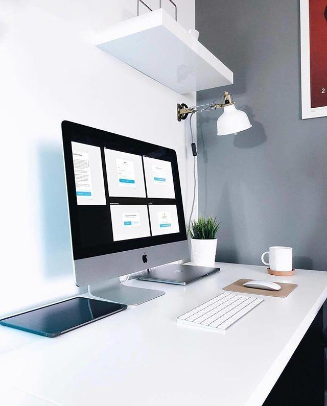 Setup Minimalist Home Office Setup Minimalist Desk Mac Setup