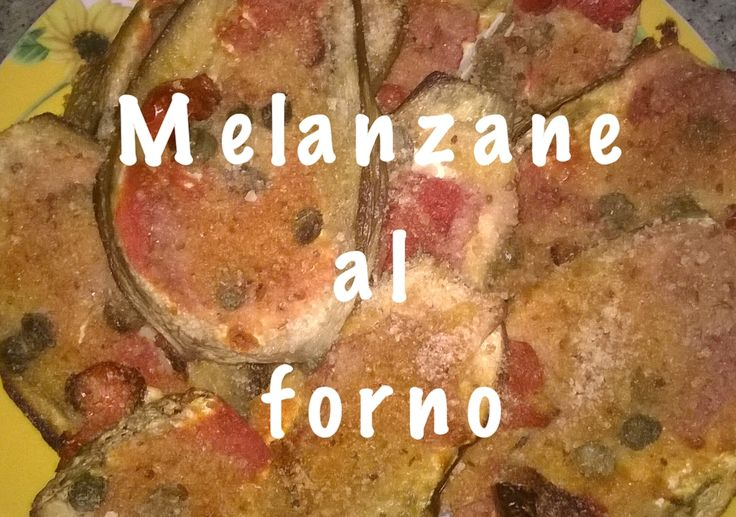 Ciao, ecco la mia nuova ricetta: MELANZANE AL FORNO. Se vuoi sapere come si realizza segui i link:  Blog: http://cucinaioete.blogspot.it/2015/08/melanzane-al-forno.html  Video ricetta: https://www.youtube.com/watch?v=FJ72iCAhM5A  Fammi sapere in un commento se provi a realizzarla o condividine la foto sui social con #antoricette