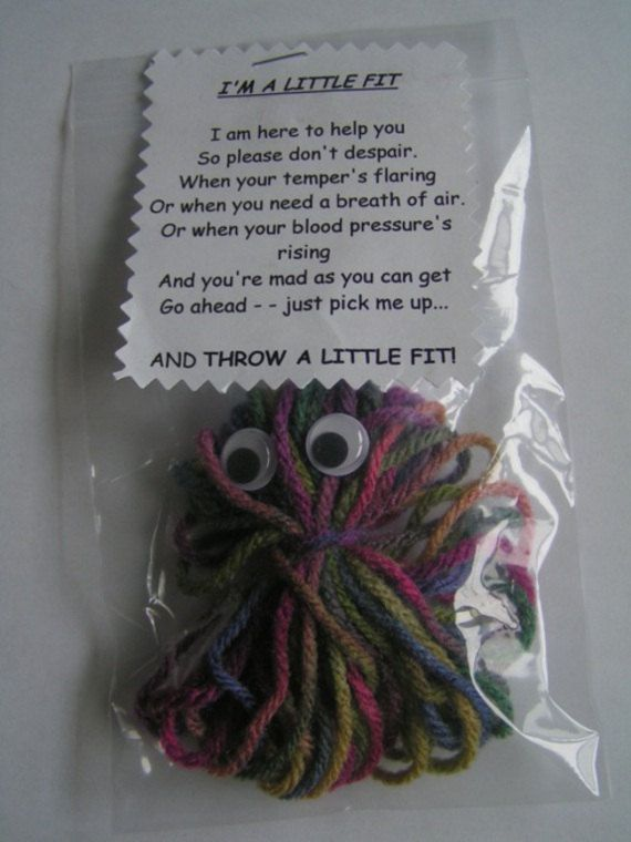 A LITTLE FIT Saying  HANDMADE  Gift  Stocking by MoonDragonsWhims