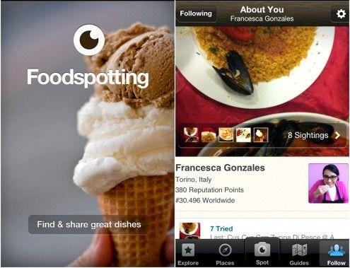 """Ovvero """"avvistare il cibo"""" e in questo caso con una foto, da condividere con altri utenti. Ultimamente fotografare il cibo è diventato lo sport nazionale no, piace a tutti e tutti lo fanno. Perché allora non ci provate anche voi"""