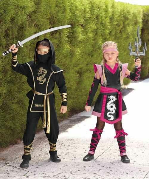 Boy & Girl Ninja Costumes                                                                                                                                                                                 More