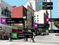 Nokia City Lens app for Windows Phone 7 zooms in on local shops Demoed for the upcoming Windows Phone 8 Lumia 920, the new app is actually available now for the current Lumia 900, 800, and 710 Windows Phone 7 handsets.