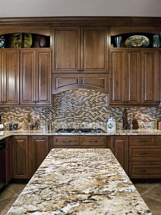 White Kitchen Cabinets Granite Countertops Design, Pictures, Remodel, Decor and Ideas - page 7