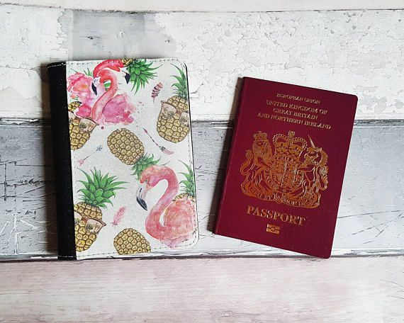 Check out this item in my Etsy shop https://www.etsy.com/uk/listing/539272881/personalised-passport-cover-flamingo