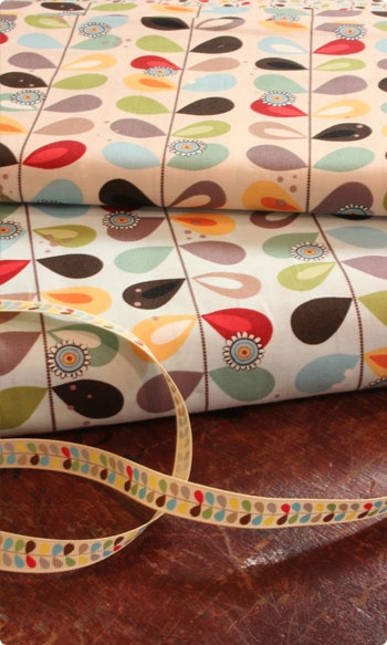 this fabric for fabric baskets, bedroom.   Clothkits.co.uk. £12.50