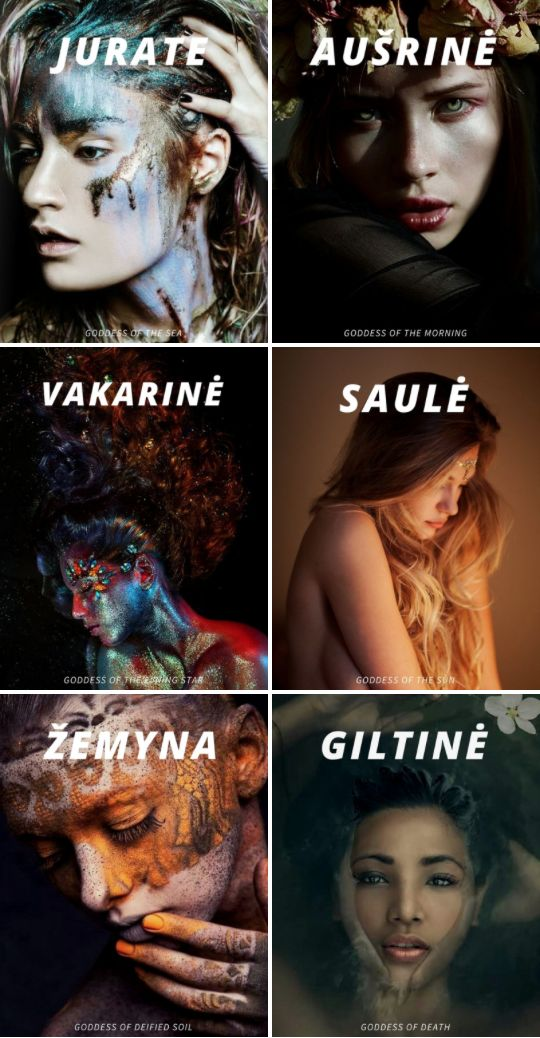 Lithuanian Mythology : Prominent Goddesses