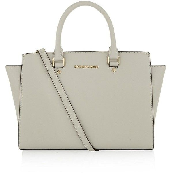 michael kors selma bag in gray love the simplicity of it michael kors pinterest the o. Black Bedroom Furniture Sets. Home Design Ideas