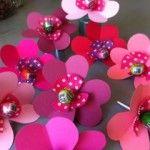 lollipop flower craft