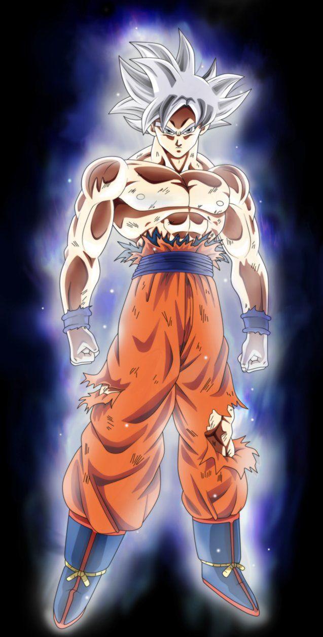 Goku Mastered Migatte No Gokui By Andrewdragonball Deviantart Com On Deviantart Dragon Ball Super Goku Dragon Ball Super Anime Dragon Ball