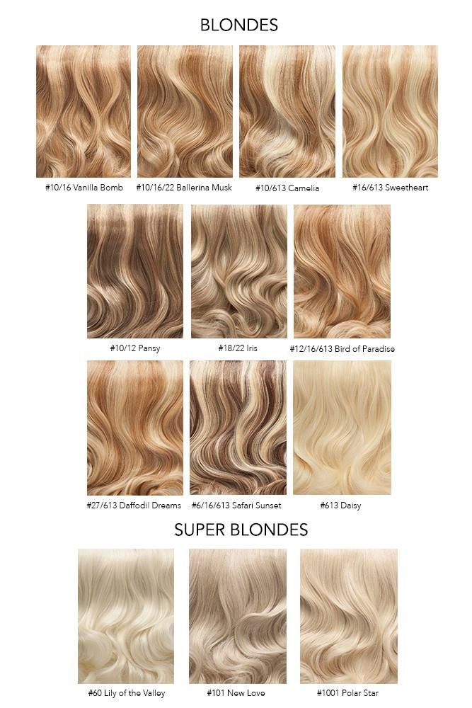 Image Result For Shades Of Blonde Hair Color With Images