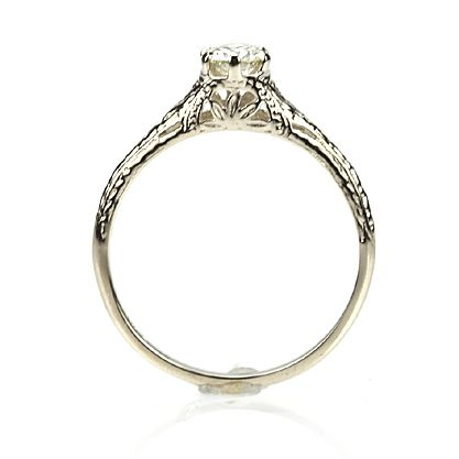 Maybe with a few alterations if any...Leigh Jay Nacht Inc. - Replica Edwardian Engagement Ring - 3293-01