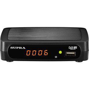 Supra SDT-85  — 818 руб. —  Тип Tv-тюнер  Дисплей да  Управление на корпусе нет  Макс. разрешение 1920x1080  Поддержка Dolby Digital (Ac3) нет  Порт Usb, шт 1  Запись с Тв на Usb устройство да  Выход Hdmi, шт 1  Антенна доп.опция  Цвет черный  Габариты 122x31х85 мм  Дополнительная информация  Исполнениевнешнее Тип подключенияавтономный Характеристики видео Поддержка Hdнет Формат видео на выходе4:3, 16:9 Цифровые стандартыDvb-T, Dvb-T2 Входы и выходы ВыходыHdmi, аудио, композитный…